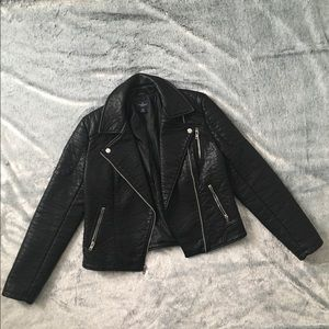 American Eagle Faux Leather Moto Jacket